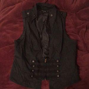 Goth Steampunk Vest